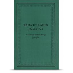 Bahá'u'lláhin julistus, pehmeäkantinen