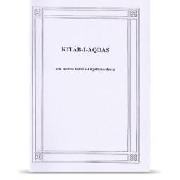 Kitáb-i-Aqdas - sen asema bahá'í -kirjallisuudessa