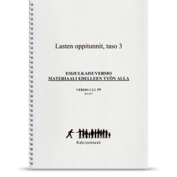Kirja 3: Lastentuntien opettaminen, taso 3