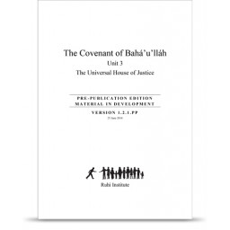 Book 8: The Covenant of Bahá'u'lláh, unit 3